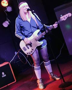 Brittany Koepp (bass & vocals)